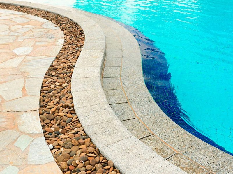 Finish Materials for pools