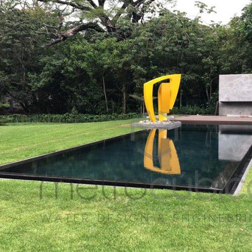 Pool construction in Santa Ana Costa Rica