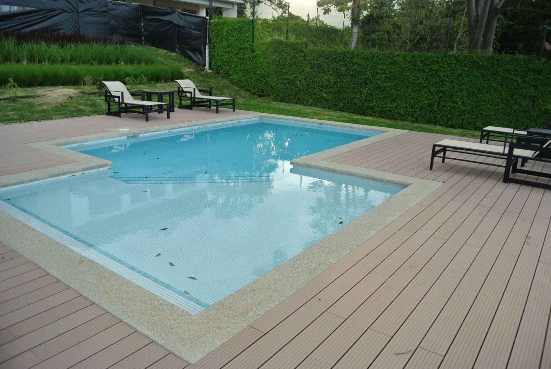 Pool construction in Escazu Costa Rica
