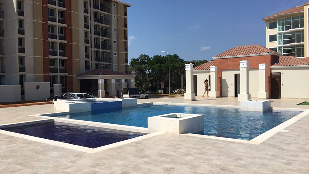 Pool construction projects in Panama