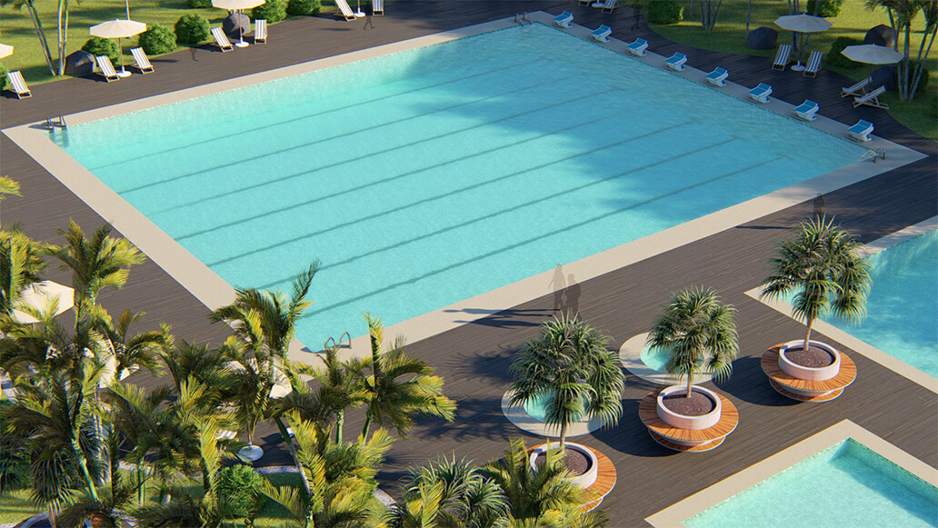 Design of pools and spas in Costa Rica