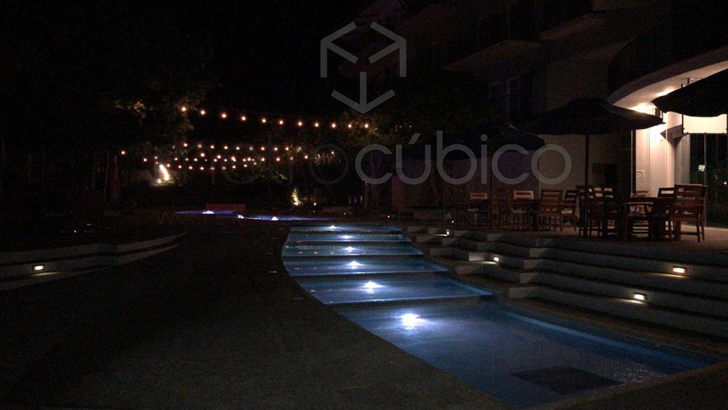 Pool renovation in Papagayo Costa Rica