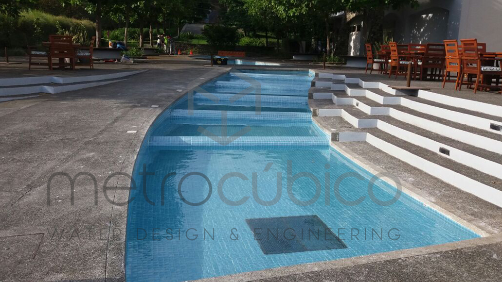 Pool renovation in Papagayo Costa Rica