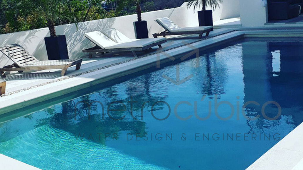 Pool renovation in Guanacaste Costa Rica
