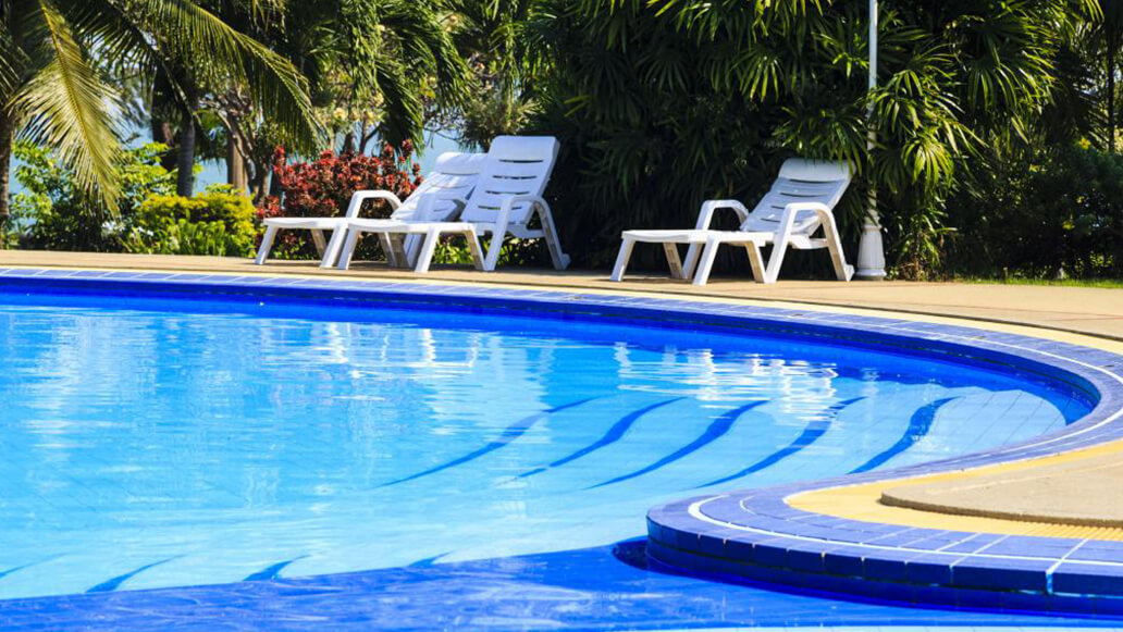 Design and construction of swimming pools for hotels